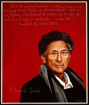 Portrait of Edward Said