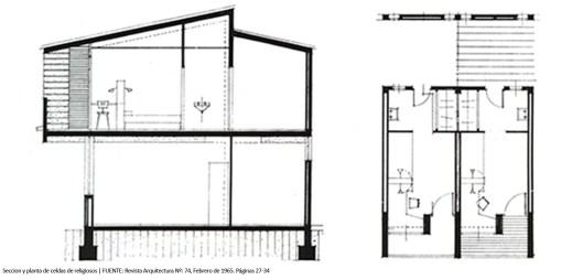 aVA - Revista Arquitectura - Colegio Sagrada Familia - P - Celdas