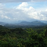 Mountain views on the road to Vientiane (Btw Vang Vieng & Vientiane, Laos)