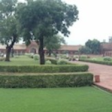 Gardens of the Red Fort (Agra, India)