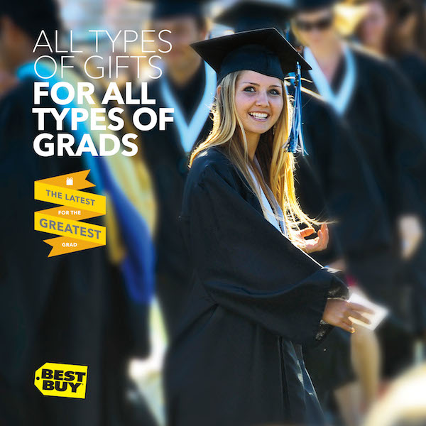 #GreatestGrad gifts from Best Buy for your grad