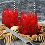Bloody Cocktail drink recipe for Halloween or while watching The Walking Dead season 7 premiere on October 23rd...