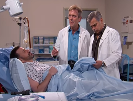 VIDEO: Watch George Clooney, Hugh Laurie perform a CPR Mashup #hilarious