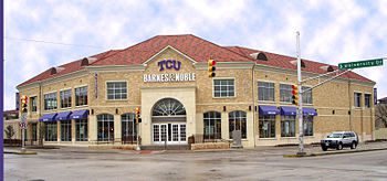English: TCU's Barnes and Noble Bookstore.