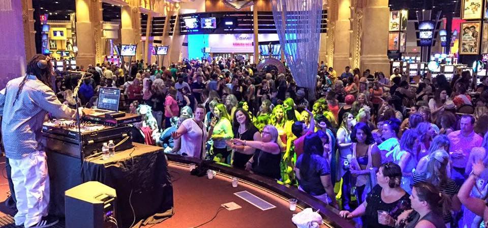 Toledo Event DJ Service - DJ One Tyme at Hollywood Casino Toledo