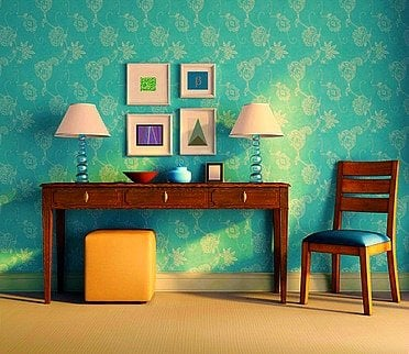 Wallpaper beautiful wallpaper cool wallpaper ideas for - Unique living room wallpaper ...