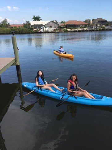 Kayaking at Cape Coral
