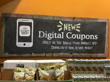 Scan the barcode when you check out for savings