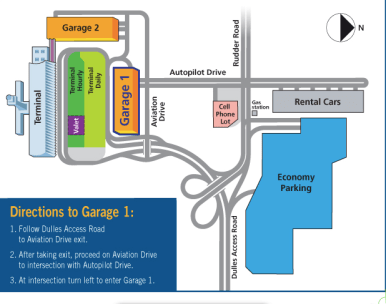 Garage Parking for $12/day in December 2016