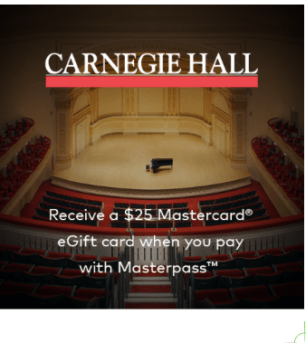 $25 gift card with ticket purchase
