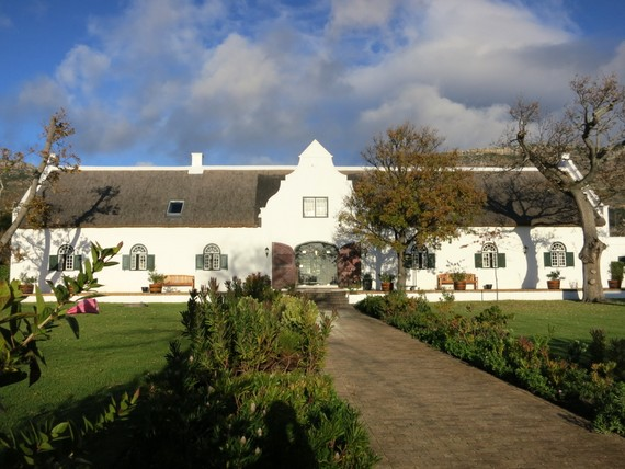 Steenberg hotel and vineyard in the Constantia, Cape Town