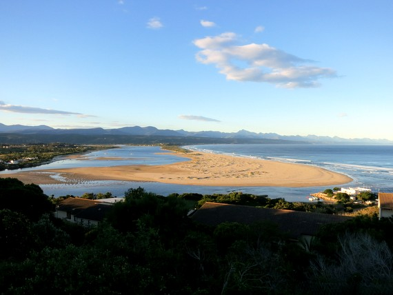 Mossel Bay sand dunes, South Africa