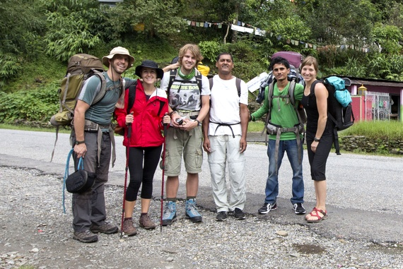 Annapurna Base Camp Hikers