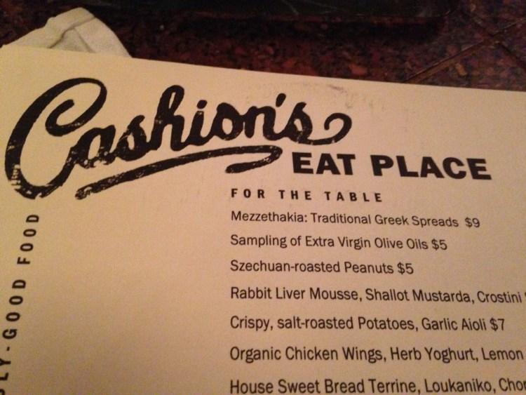 Cashion's Eat Place: Creative & Delicious