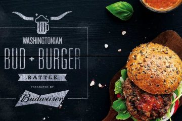 Burgers, burgers, and more burgers at Washingtonian's Bud & Burger Battle.