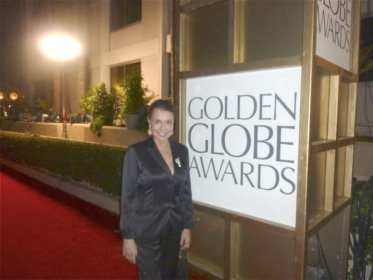 Irene at the Golden Globes