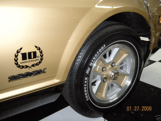 datsun 280zx black gold 10th anniversary 1of3000 12