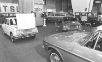 1956 Chicago Auto Show Toyota Corona