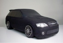 Rocket Craft plush Subaru Legacy wagon BP