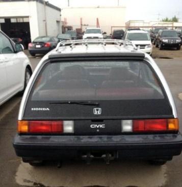 1985 Honda Civic 4