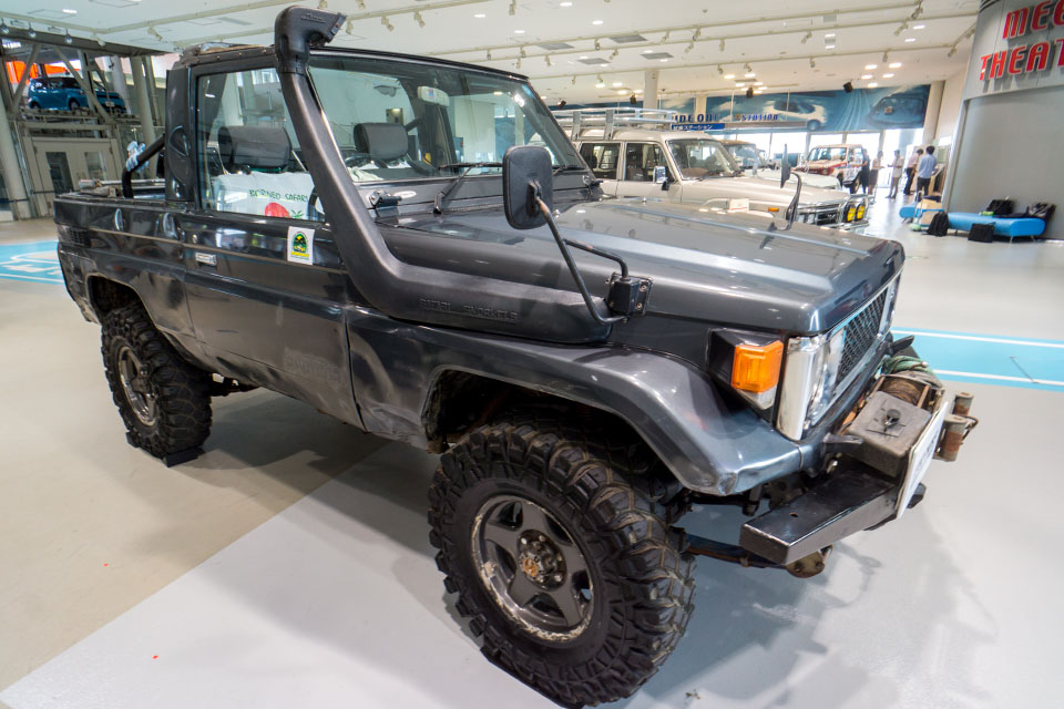 Land Cruiser Motor Show in Tokyo celebrates Japanese re-release of 70-Series - Toyota Land Cruiser 70 Series 31