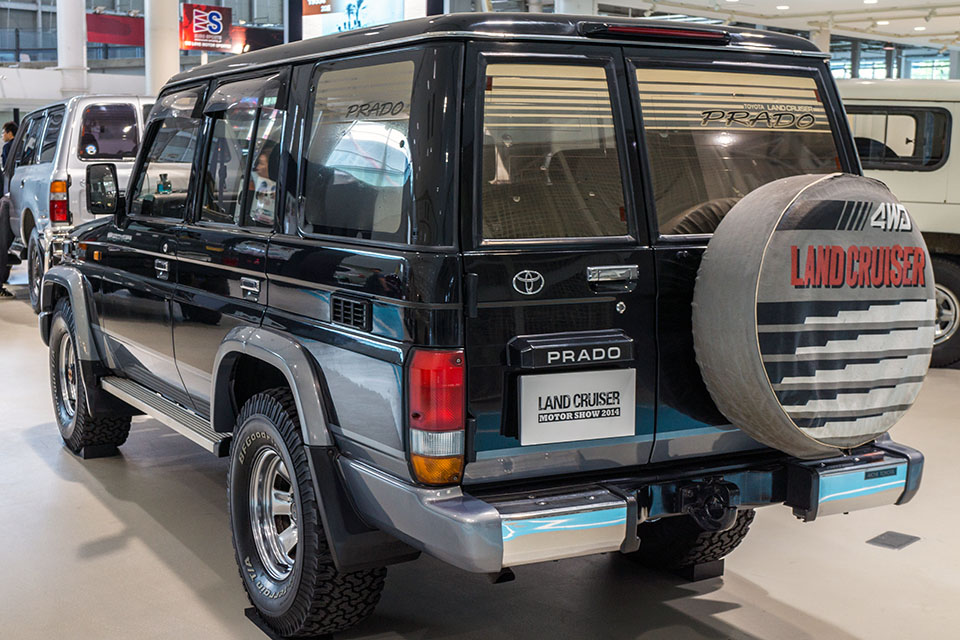 Land Cruiser Motor Show in Tokyo celebrates Japanese re-release of 70-Series - Toyota Land Cruiser 70 Series 46