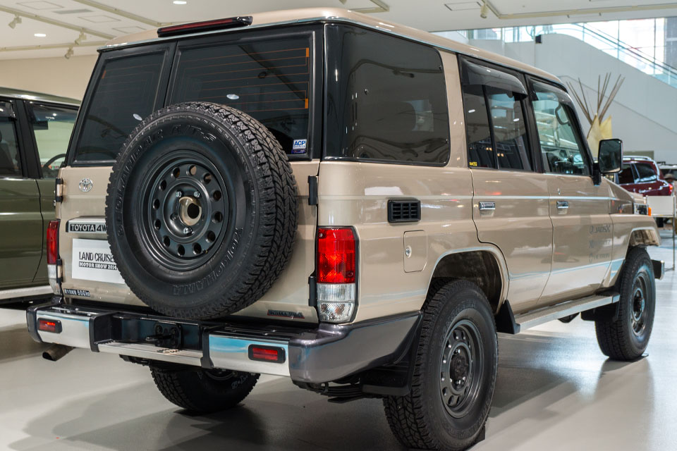 Land Cruiser Motor Show in Tokyo celebrates Japanese re-release of 70-Series - Toyota Land Cruiser 70 Series 48