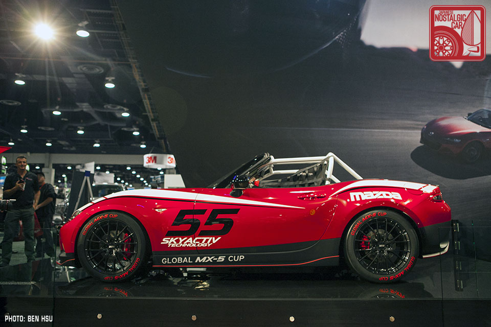 NEWS: The first ND Mazda MX-5 race car is here