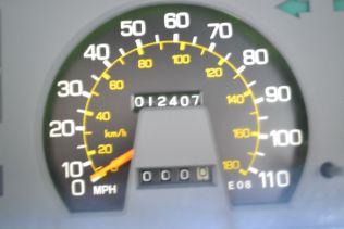 KE70 Corolla Odometer