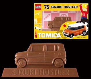 Tomica chocolate 2017 Suzuki Hustler