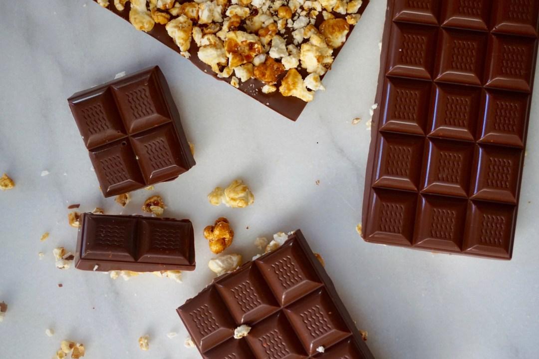 Caramel Corn Candy Bars