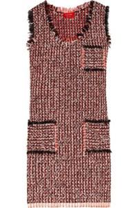 Lanvin Shift Tweed Dress Retail ($2,075)