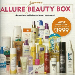 Allure Summer Beauty Box 2012