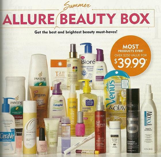 Allure Summer Beauty Box 2012