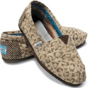 Tom's Shoes Snow Leopard Women's Vegan Classics $54