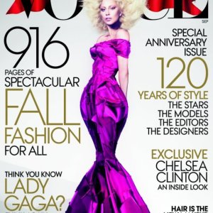 Lady Gaga Sept 2012 Vogue Cover