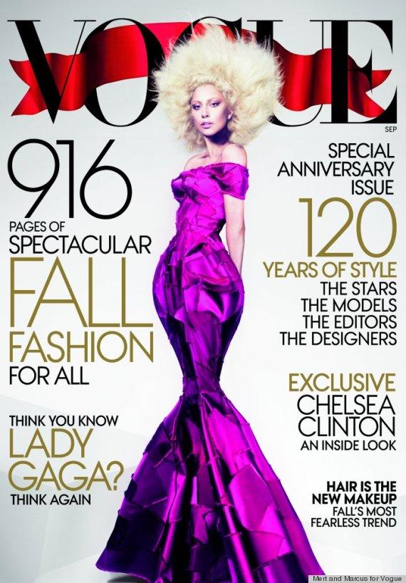 Lady Gaga Sept 2012 Vogue Cover