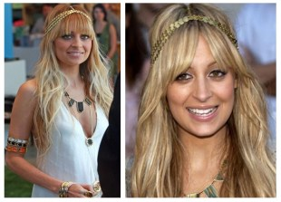 Nicole Ritchie headpeice
