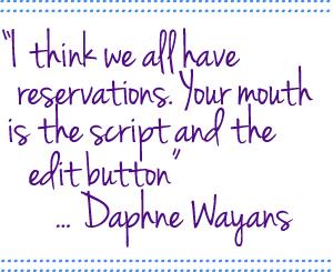 Daphne Wayans Quote