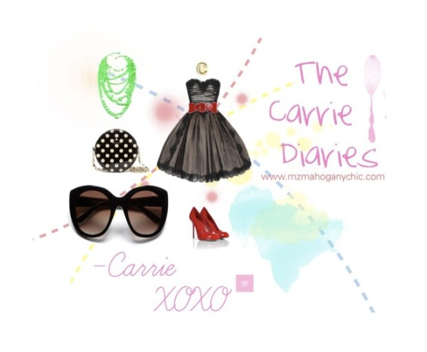 Glam with The Carrie Diaries