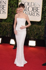 70th Annual Golden Globe Awards - Anne Hathaway