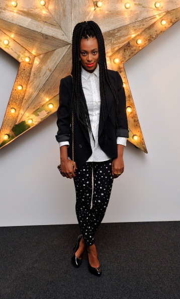 Solange Knowles in 2011 at a D&G party (Getty Images)