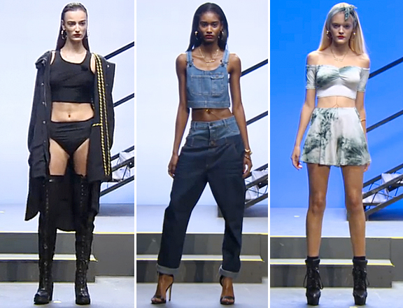 RIhanna's River Island Collection at London Fashion Week