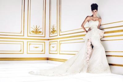 Ines DiSanto Peplum gown