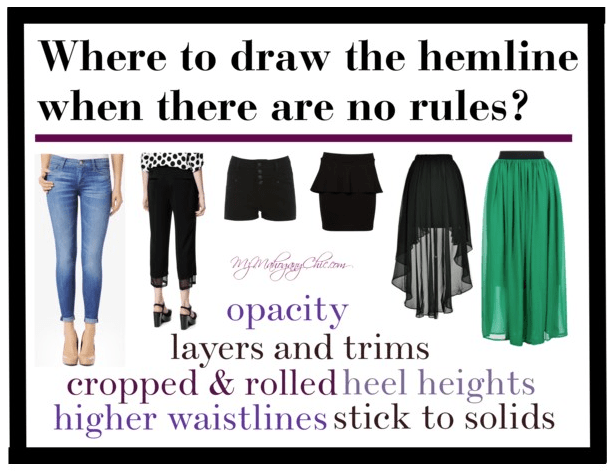 Where to draw the hemline | Polyvore.com