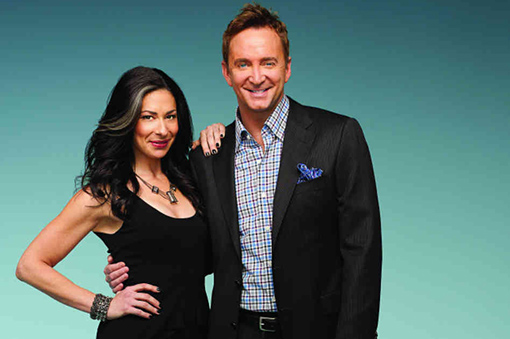 Stacey London and Clinton Kelly