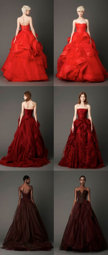 Vera Wang Color Gowns