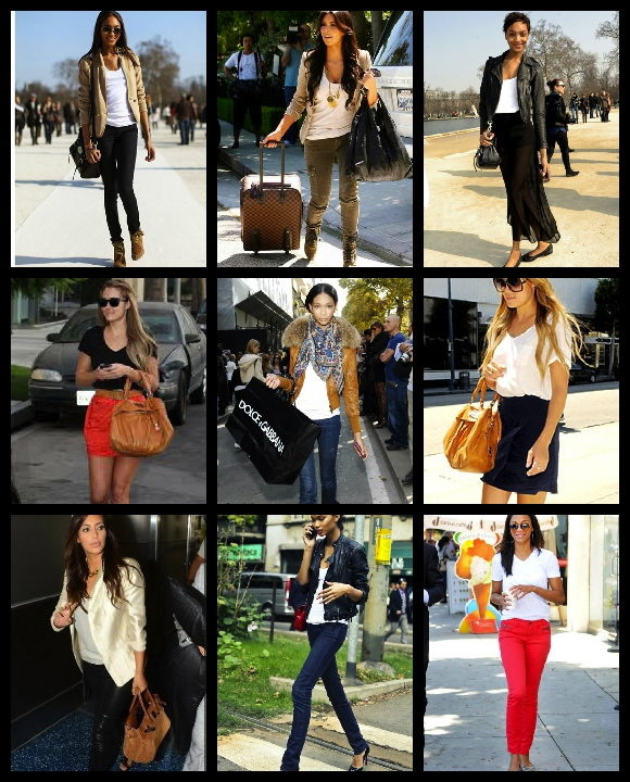 street chic celebrities rocking the closet staple