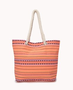 Forever 21 Geo Beach Bag for $12.80.