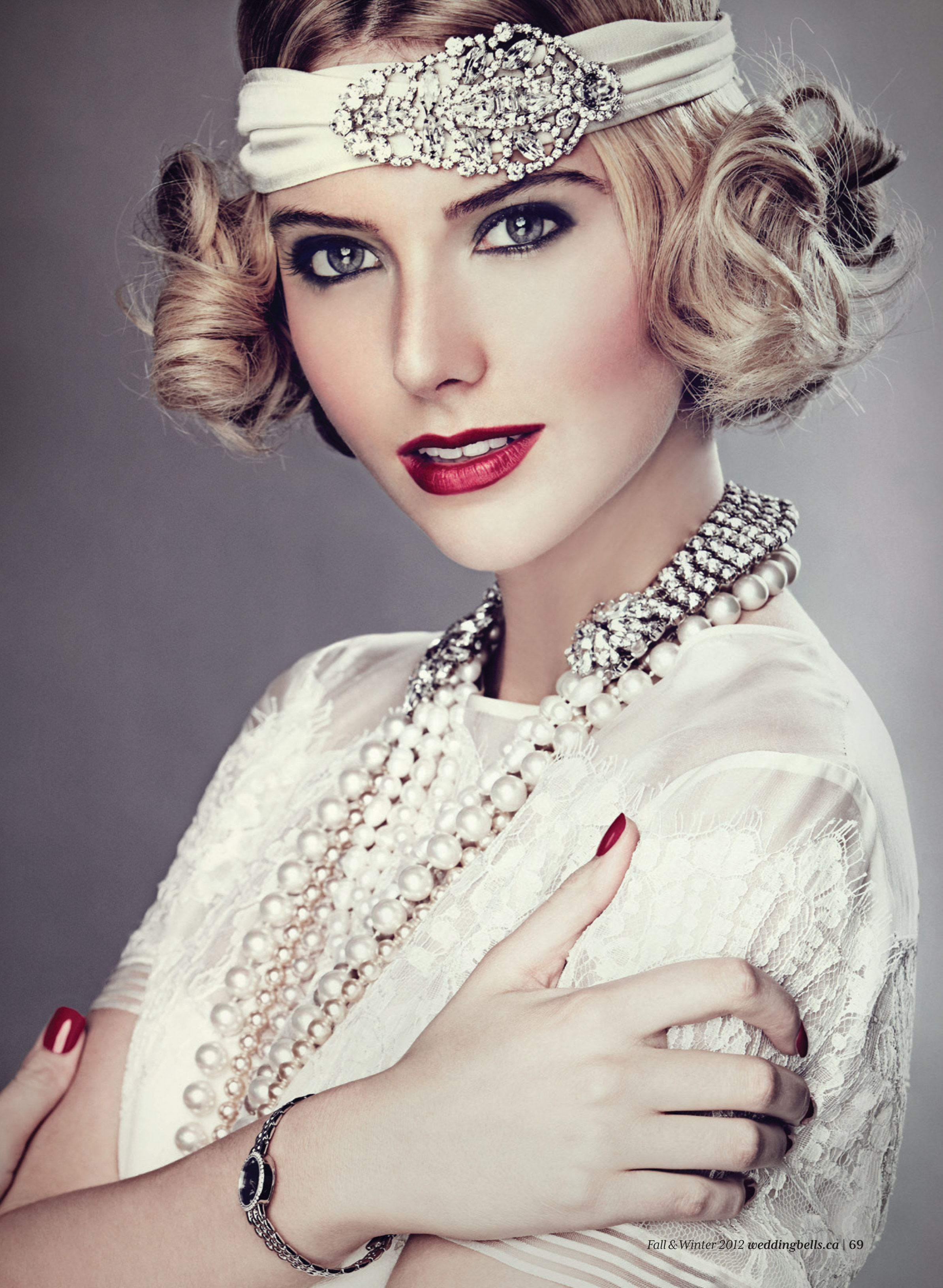 Look Retro Great Gatsby Style And Diy Hair Mz Mahogany Chicmz